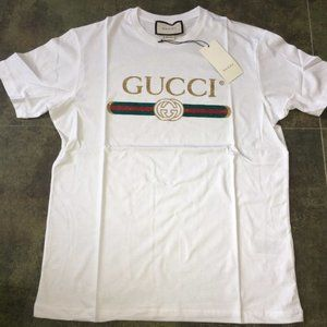 Gucci Men Tshirt Brand Printed